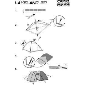 CAMPZ Lakeland Beige/Grå